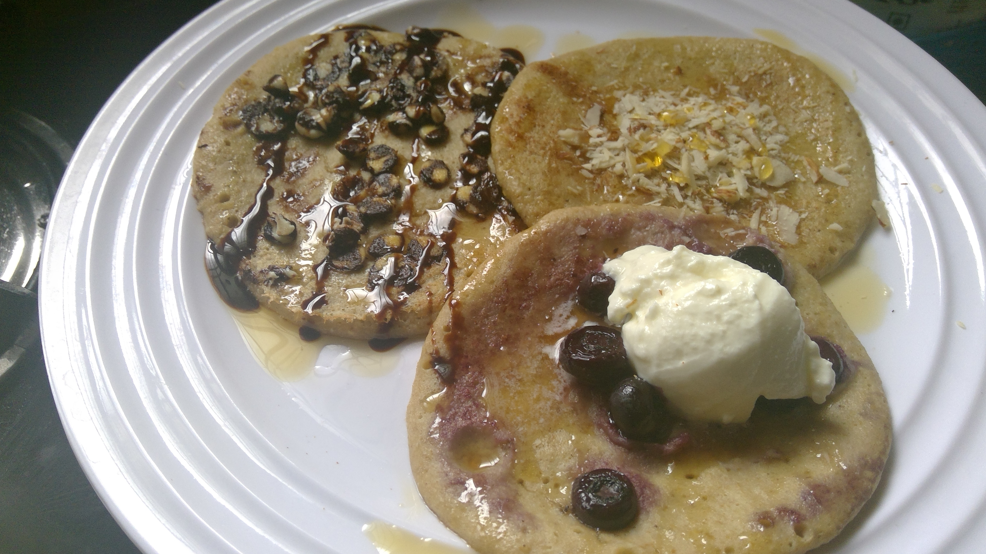 3 Ingredients Healthy Pancakes