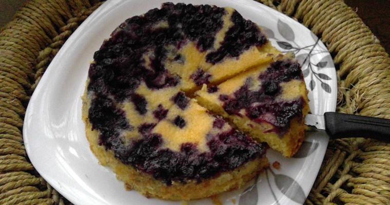 Easy Lemon Blueberry Cake