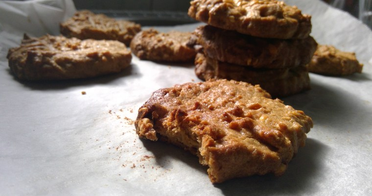 3 ingredients Peanut butter Cookies