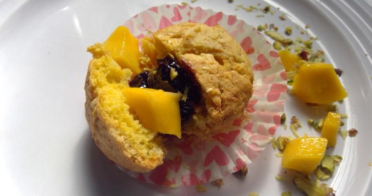 Mango Saffron Breakfast Muffins