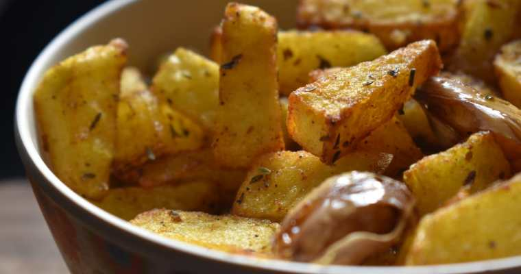 Garlic Thyme Fried Potatoes