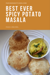 Spicy Potato Masala