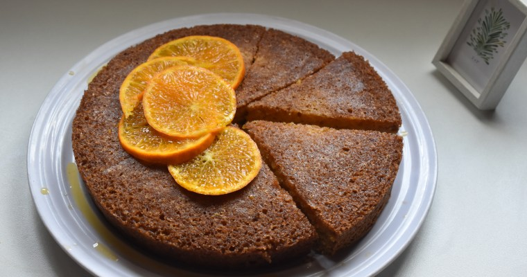 Olive Oil Mandarin Orange Cake