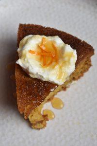 Olive Oil Mandarin Orange Cake
