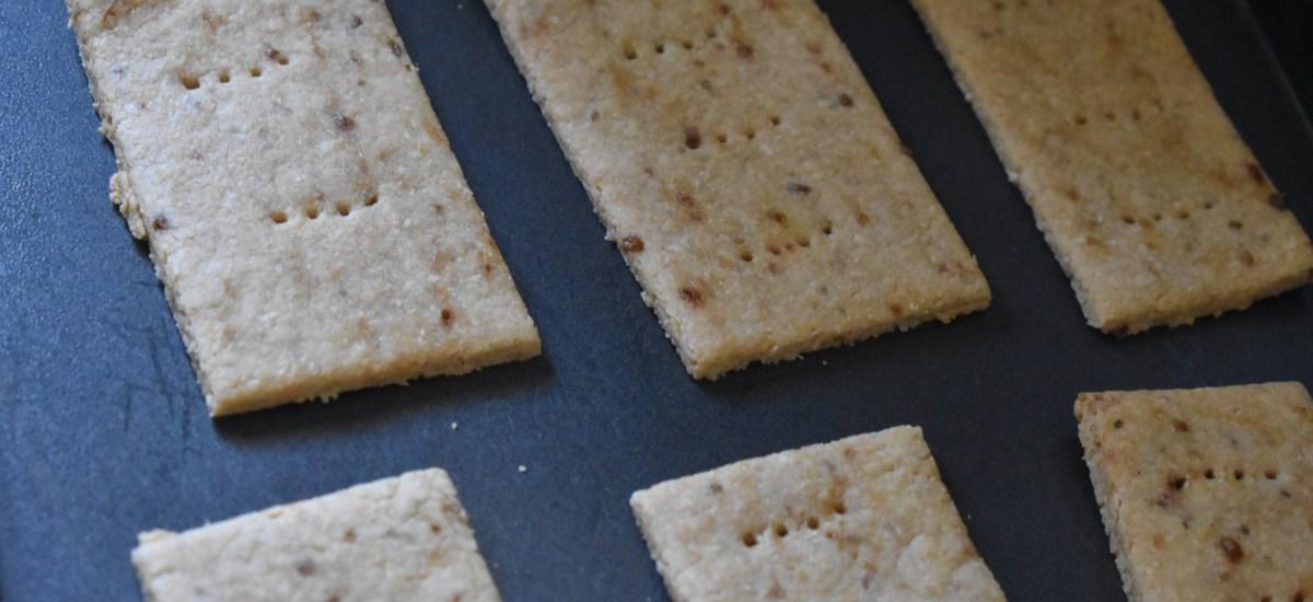 Easy Homemade Coconut Crackers