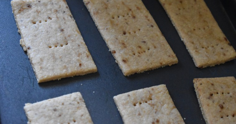 Easy Homemade Coconut Crackers