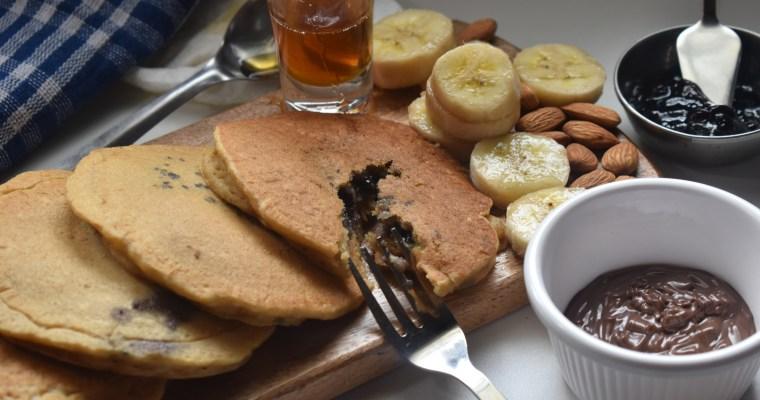 Jam Stuffed Pancakes