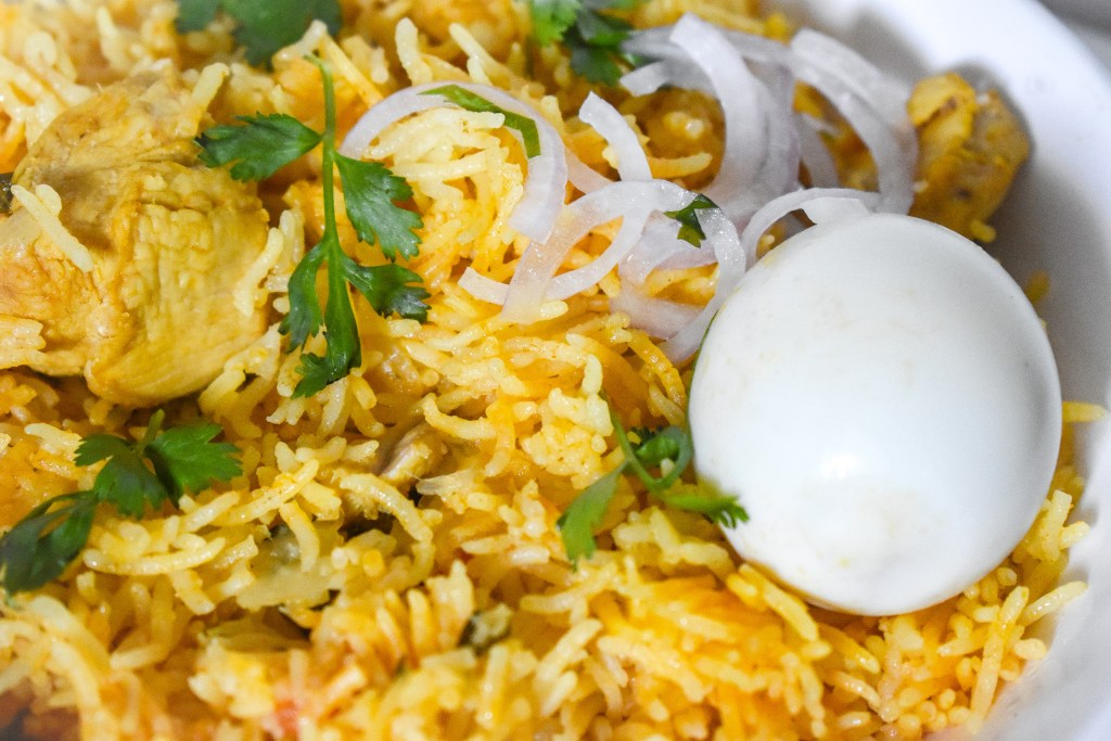 Recipe Chicken Biryani - Parveenskitchen.com