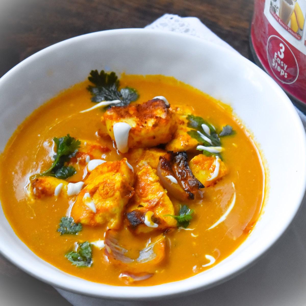 Soup Maker Paneer Tikka Masala - Parveenskitchen.com