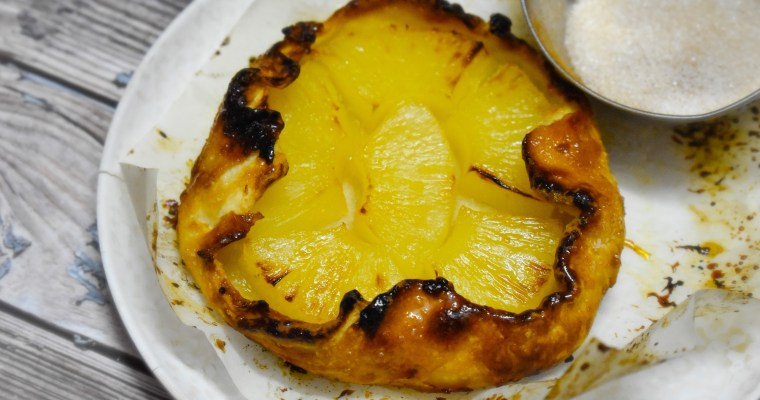 3 ingredients Pineapple Galette