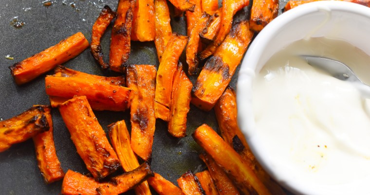 Simple Carrot Fries