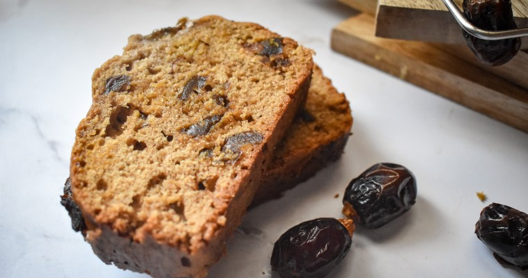 Easy one Bowl Banana Dates Bread