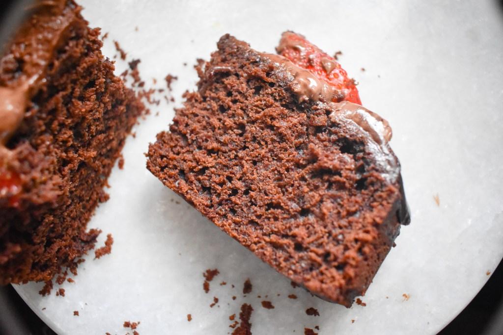 Chocolate Ricotta Cake - Parveenskitchen.com
