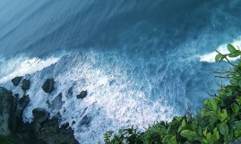 The waters of Bali