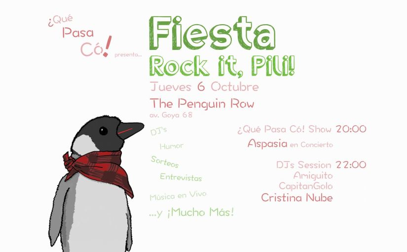 Fiesta Rock it, Pili!