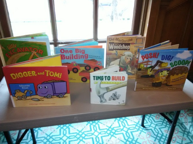 Construction: Preschool Storytime