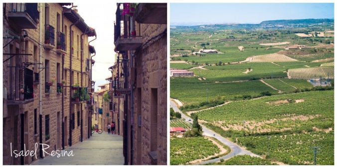 Laguardia mirador de La Rioja Alavesa