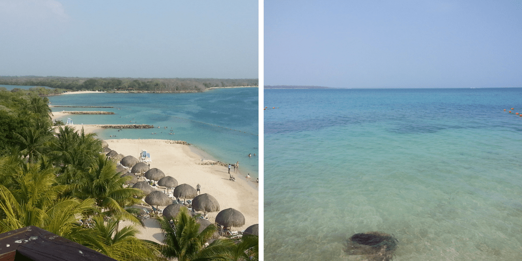 playas Isla Barú