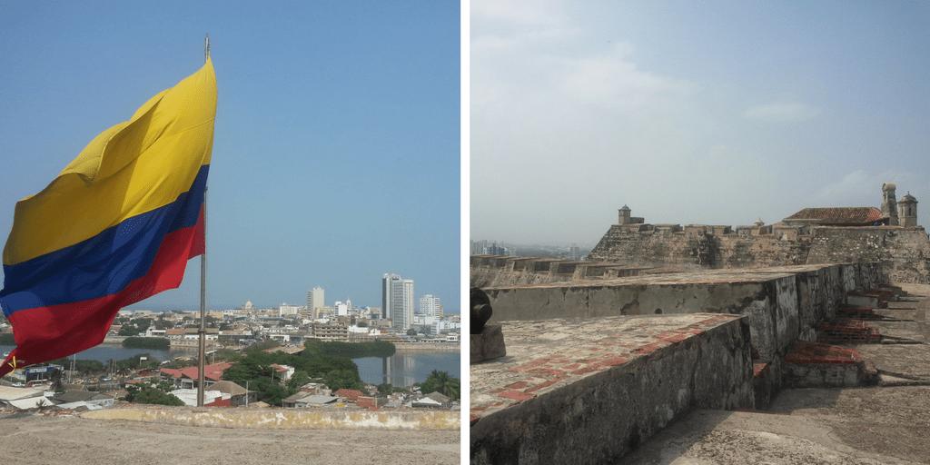 Cartagena de Indias desde el castillo de San Felipe de Barajas