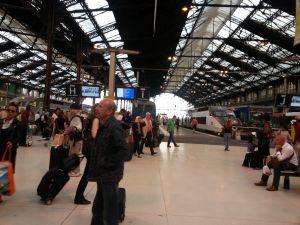 Esperando el tren nocturno a Venecia - Gare de Lyon - Paris