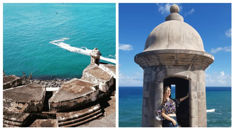 Las garitas del Castillo de San Felipe del Morro y sus impresionantes vistas