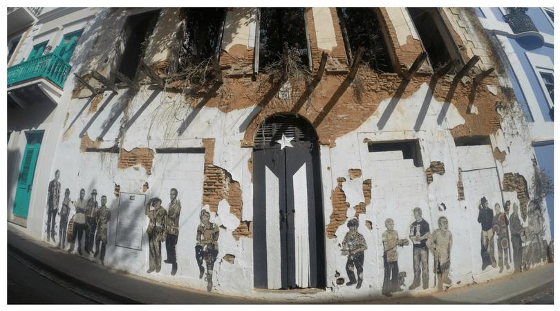 La puerta de la bandera - calle San José