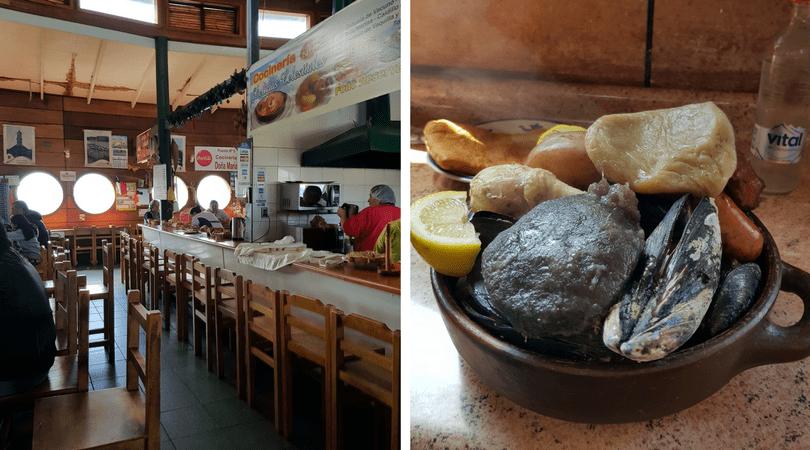 Las cocinerías y el Curanto