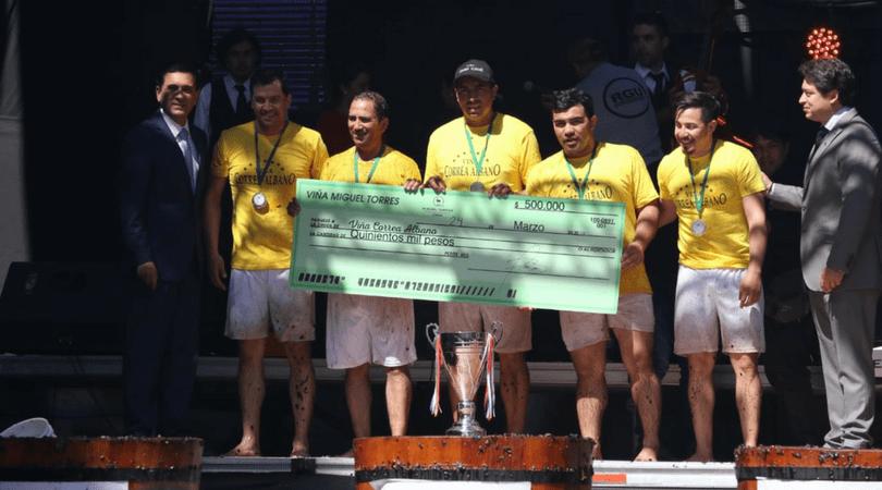El equipo de la viña Correa Albano se llevó la victoria al igual que el año anterior