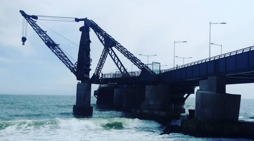 El restaurado Muelle Vergara