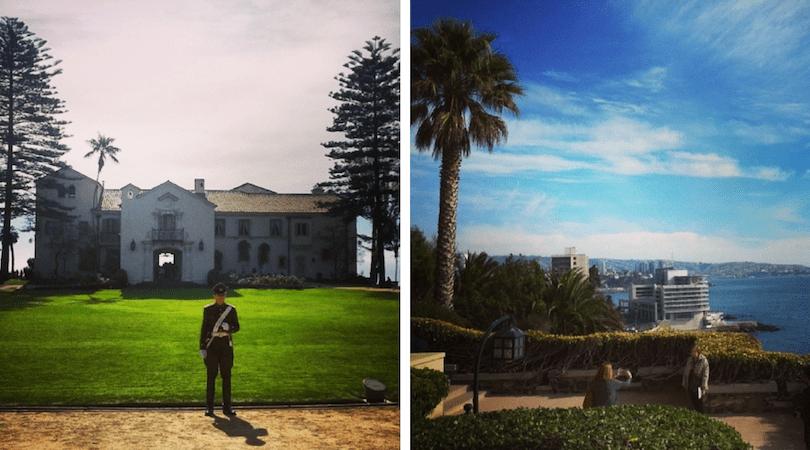 Cerro Castillo, el Palacio Presidencial y sus vistas