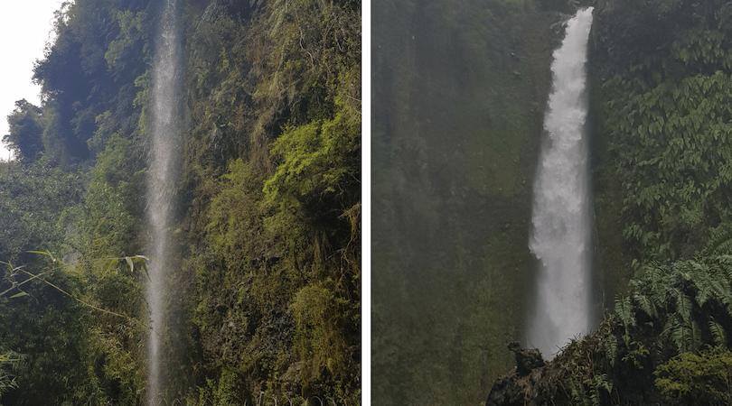 La cascada que no era / la cascada Ensenada