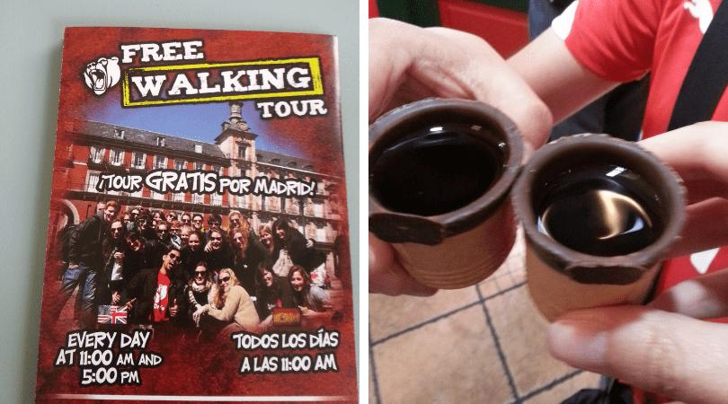 Este Free Walking Tour en Madrid resultó buenísimo, pude probar el licor de Madroño del que probablemente de otro modo ni hubiera sabido