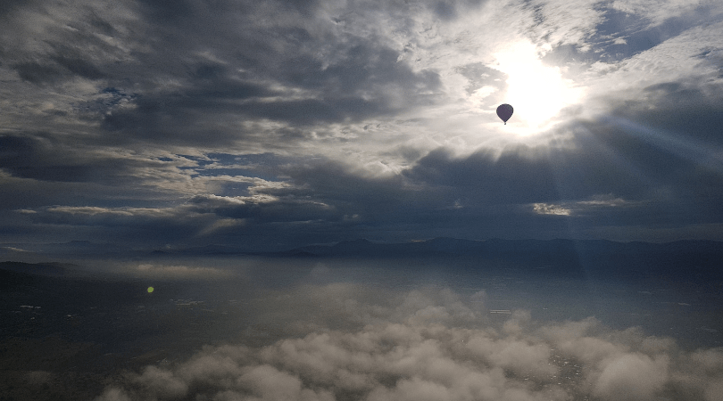 Experiencia en globo sobre Teotihuacán con Volare: te lo cuento