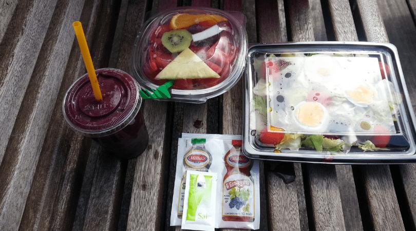 Un almuerzo rico hasta con adherezos por muy pocos euros