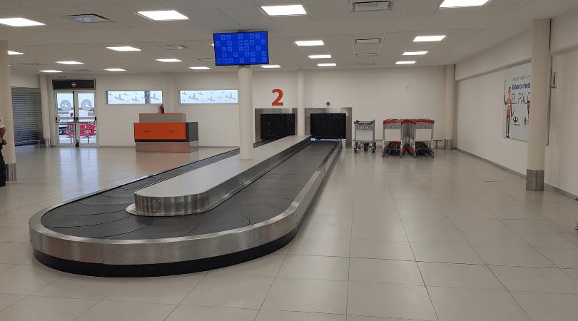 Las cintas transportadoras de equipaje