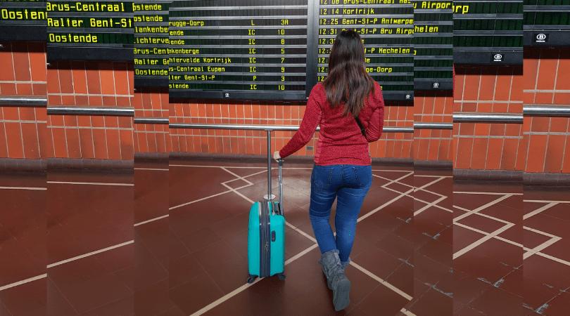 Cómo logré viajar a Europa con equipaje de mano en invierno
