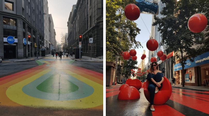 El Paseo Bandera y sus colores
