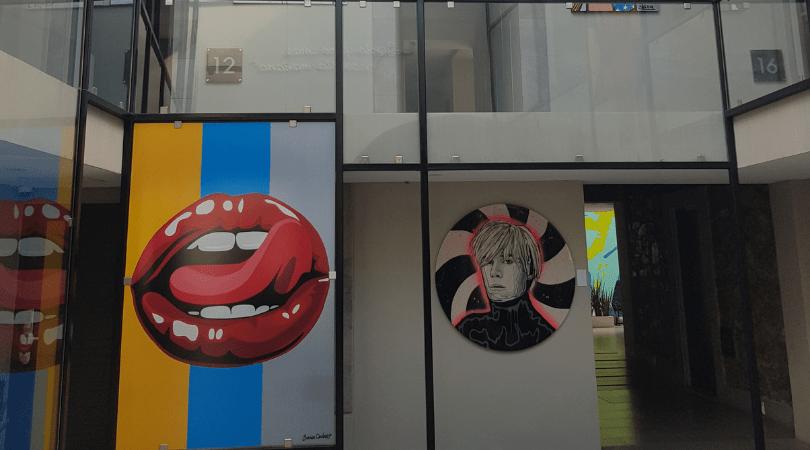 El pop art en su máxima expresión por todos los rincones