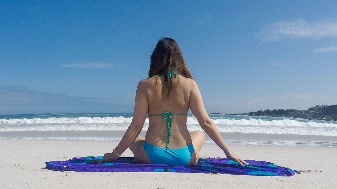 Este tipo de fotos me gusta mucho, tomada también con la Gopro y el trípode en playa La Virgen, norte de Chile