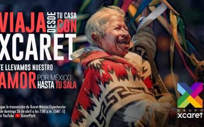 XCARET presenta su show México Espectacular online para viajar desde casa