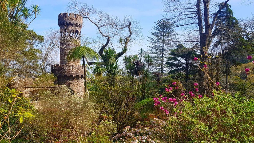 Los hermosos jardines de Quinta da Regaleira