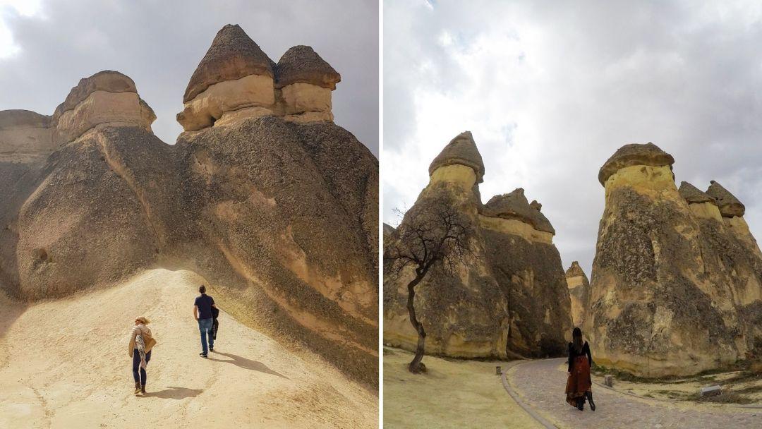 El valle de los monjes es realmente sorprendente