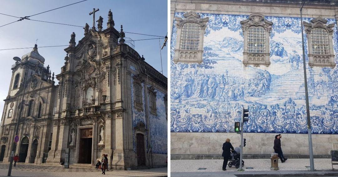 La impresionante igreja do Carmo