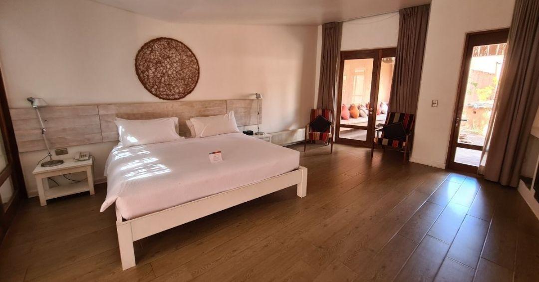 La impresionante habitación de NOI Casa Atacama