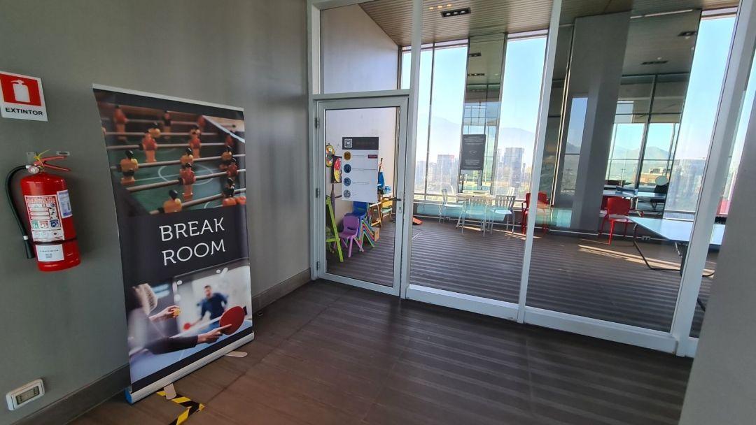 Conoce el Break Room