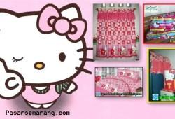 Gorden Hello Kitty Cantik Bagus Buat Kamar Cewek