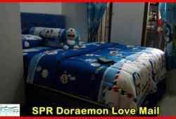 Contoh Desain Kamar Tidur Serba Doraemon