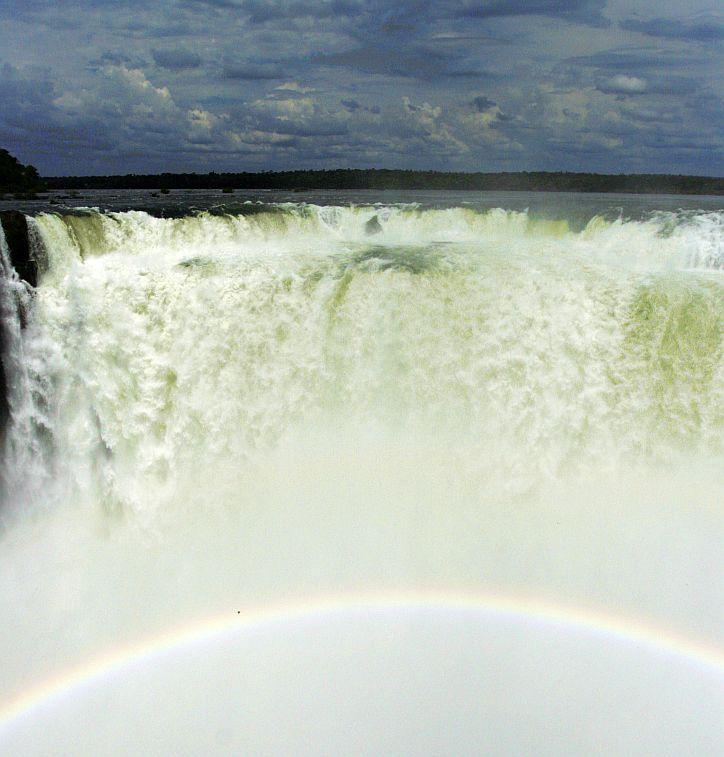 Garganta del Diablo - didziausias Iguazu krioklys