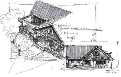 41 sketch_craftsman home