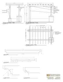 43 Pergola Shop Drawings